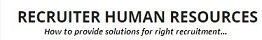 RECRUITER HUMAN RESOURCES CONSULTANCY