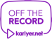 Off The Record ile merak edilen soruları yanıtlayın!